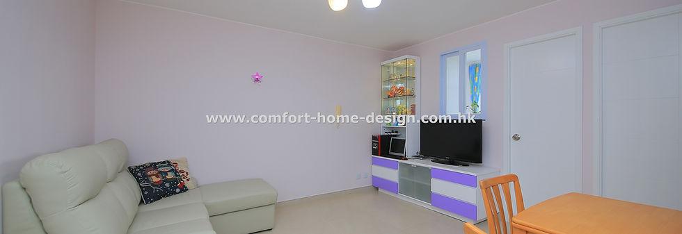 新界 將軍澳 唐明苑 室內設計 裝修設計 裝修工程