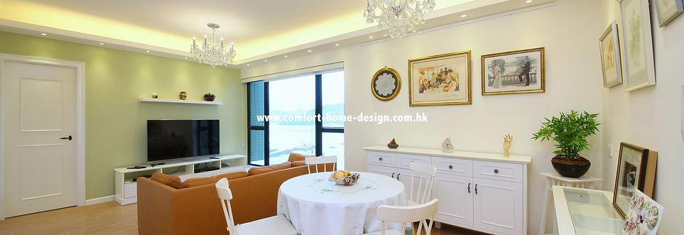 新界 馬灣 珀麗灣 13座 室內設計 裝修設計 裝修工程