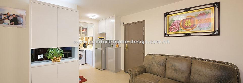 新界 將軍澳 顯明苑 室內設計 裝修設計 裝修工程