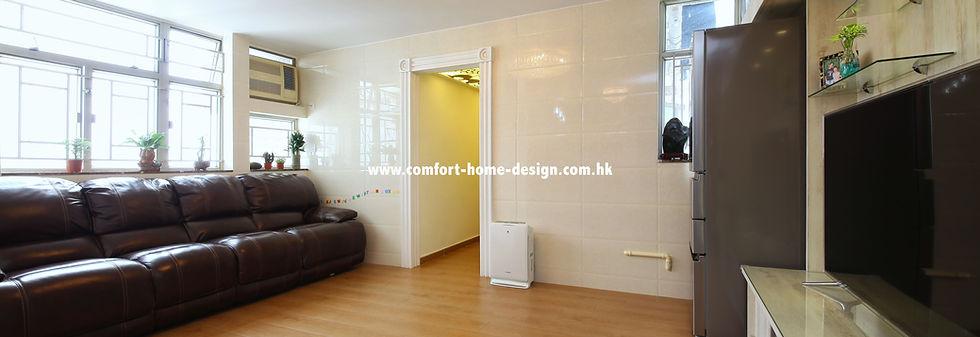 新界 屯門 龍門居室內設計 裝修設計 裝修工程