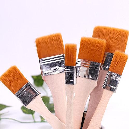 1-6# Nylon Hair Chip Brushes