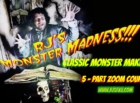 Rj's MONSTER MADNESS! OCTOBER 2020