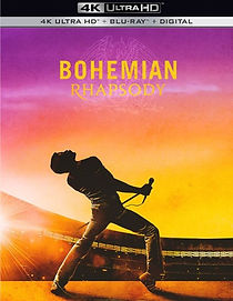 Bohemian Rhapsody UHD Blu-ray Digital Cinema