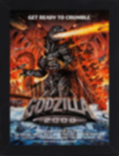 Amercian Poster art Godzilla 2000  Interview with Michael Schlesinger thedigitalcinema.info