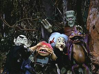 Phyllis Diller and her co-stars in Mad Monster Party - Interview thedigitalcinema.info