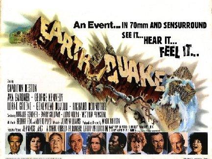 poster Earthquake Charlton Heston Ava Gardner  poster2