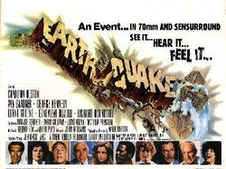 poster Earthquake Charlton Heston Ava Gardner  poster2
