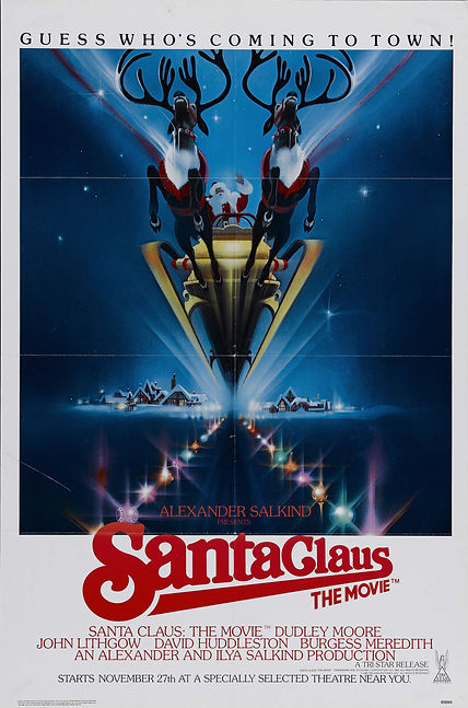 Santa Claus: The Movie - theatrical one-sheet - interview with Producer Ilya Salkind - thedigitalcinema.info