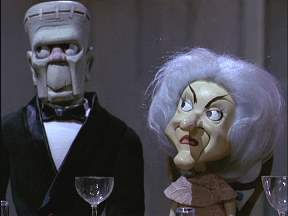Phyllis Diller as a puppet in Mad Monster Party - Interview at thedigitalcinema.info