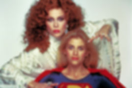 Faye Dunaway, Helen Slater in SUPERGIRL Ilya Salkind, producer interview - thedigitalcinema.info
