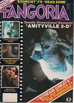FANGROIA magazine featuring interview with Marcel Vercoutere who worked on THE EXORCIST by Scott Michael Bosco