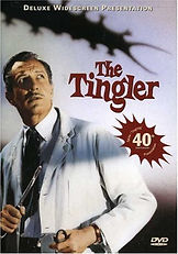 Vincent Price in THE TINGLER, a William Castle film.