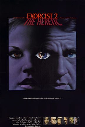 Exorcist II: The Heretic Pre-release poster design - thedigitalcinema.info