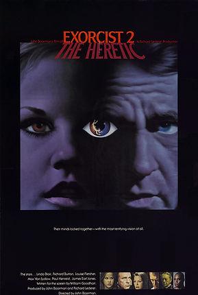 Exorcist II: The Heretic Pre-release poster design - thedigitalcinema.info