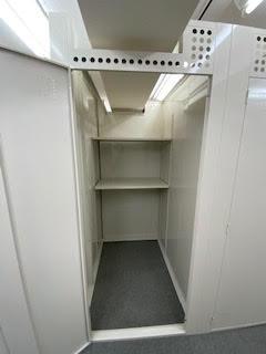 トランクルームの内部