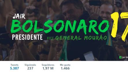#Bolsonaro y su éxito en las redes sociales.
