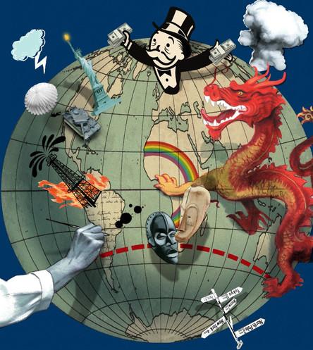El desordenado mundo de Donald Trump