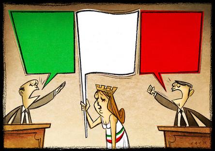 La Divina Tragedia: Dante, Maquiavelo y las elecciones en Italia.