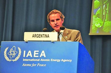 Argentino candidato para dirigir el Organismo Internacional de Energía Atómica