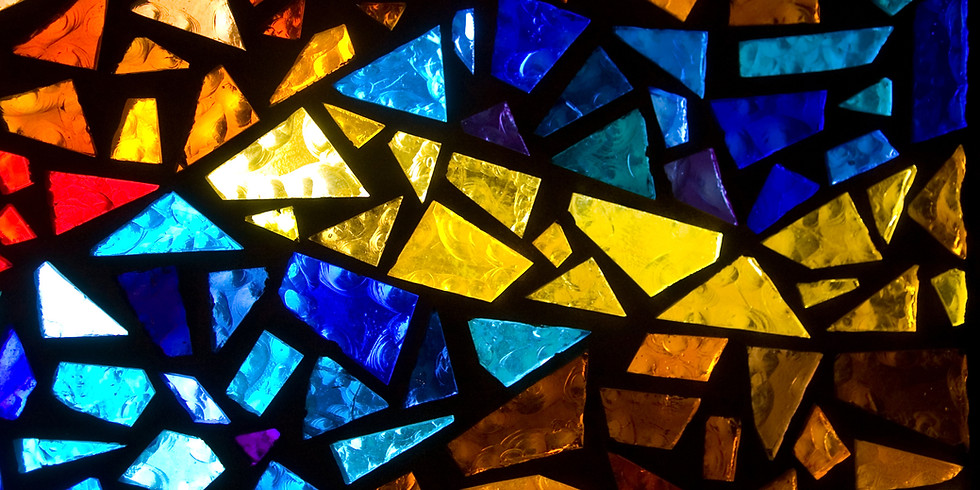 Break & Rebuild Healing Session with Stained Glass