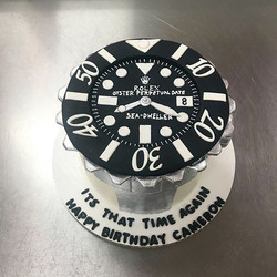 Special Rolex cake for one of my longest