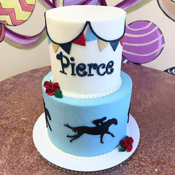 In honor of the derby this weekend, happy 2nd Birthday Pierce! 🐎_._._._._._._