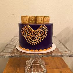 Bollywood themed baby shower cake! #goldiesgoodiesbakery #tampa #bakery #babyshower #custom #cake #d