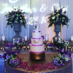 Congratulations to the Welty's! #goldiesgoodiesbakery #tampa #bakery #custom #weddingcake #cake #qui