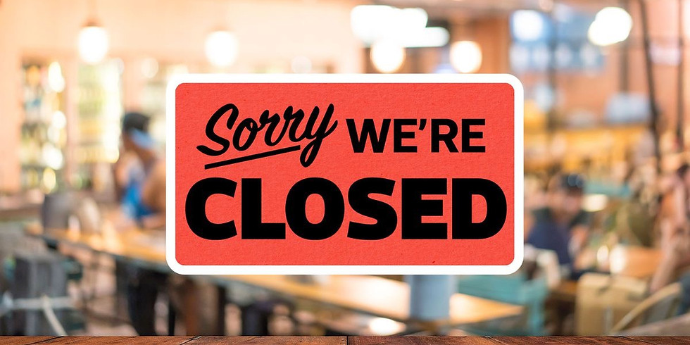 MEQUON CAFE CLOSED, Aug 19
