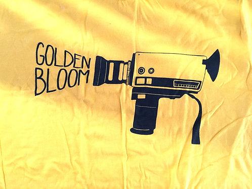 Super 8 Camera Gold T-Shirt