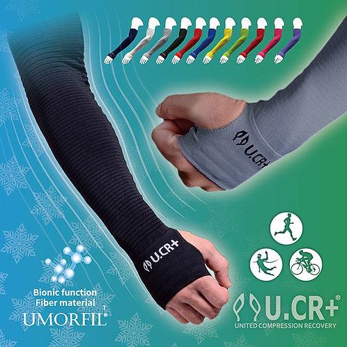 【U.CR+ Compression】2019MIT金選系列 咖啡膠蛋姆指袖套 共11色 抗UV 防曬 保濕
