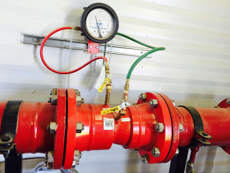 Internal Flow Meter