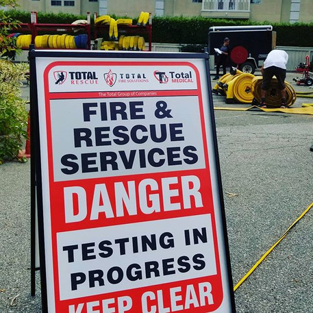 Vancouver Fire Department Hose Testing Project
