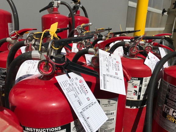 Fire Extinguisher Annual Certifications