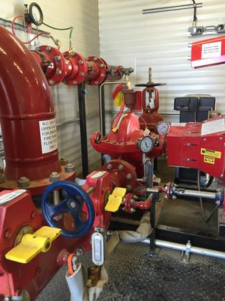 Fire Pump & Bypass Controls