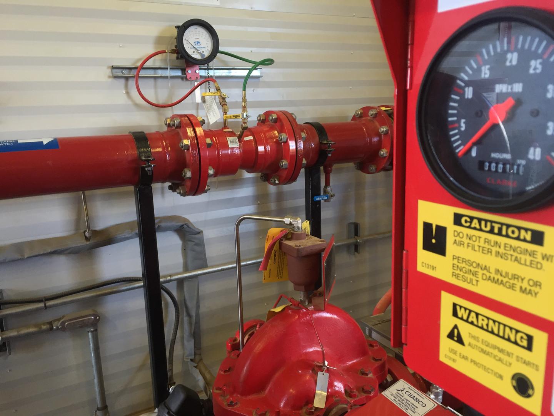 Fire Pump & Flow Meter
