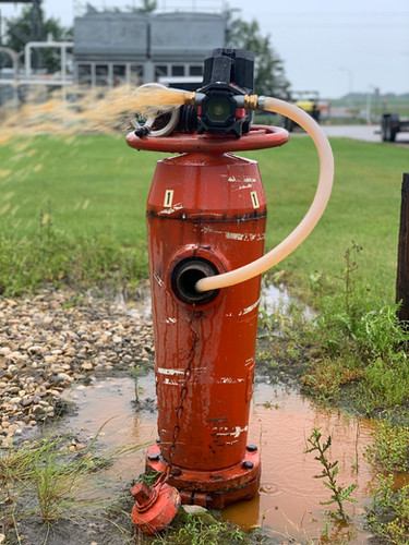 Fire Hydrant Pump Out & Winterization
