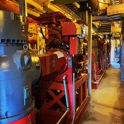 3 - 4500 GPM Pumps!