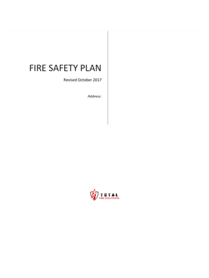 Fire Safety Plans