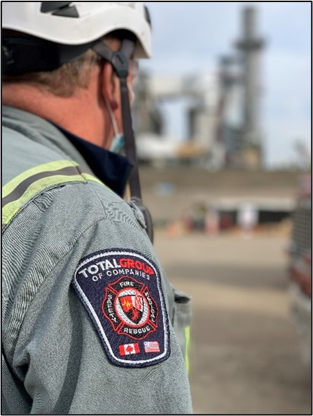 Total Group Turnaround Services Safety Personnel