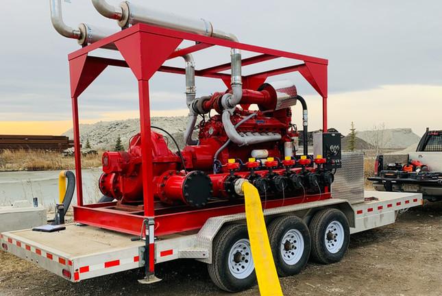 5000 GPM Portable Fire Pump