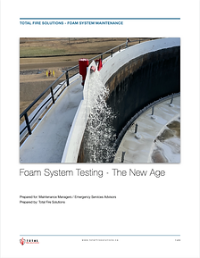 Foam System Testing - The New Age.._