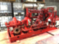 Total Fire Solutions Custom Fire Pump Fabrication