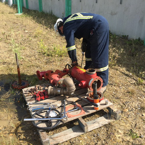 Fire Hydrant Repairs