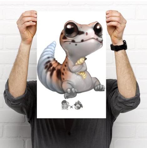 Fat-Tail Gecko