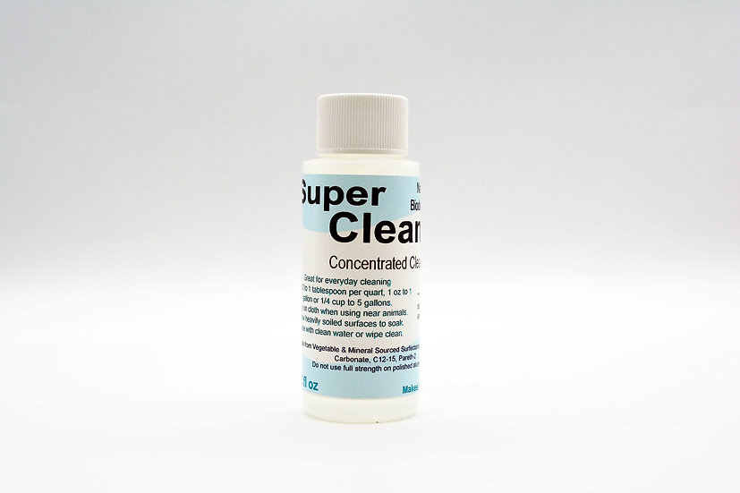 Super Clean Concentrated Everything Cleaner 4oz