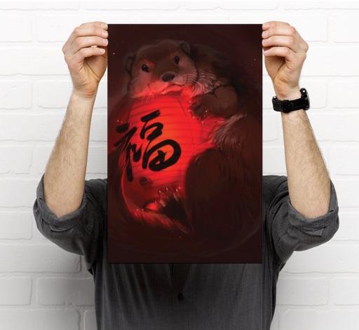 Red Lantern Otter