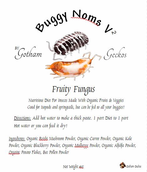 Buggy Noms V2 Fruity Fungus