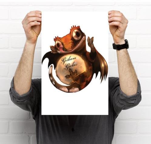 Gotham Geckos Poster
