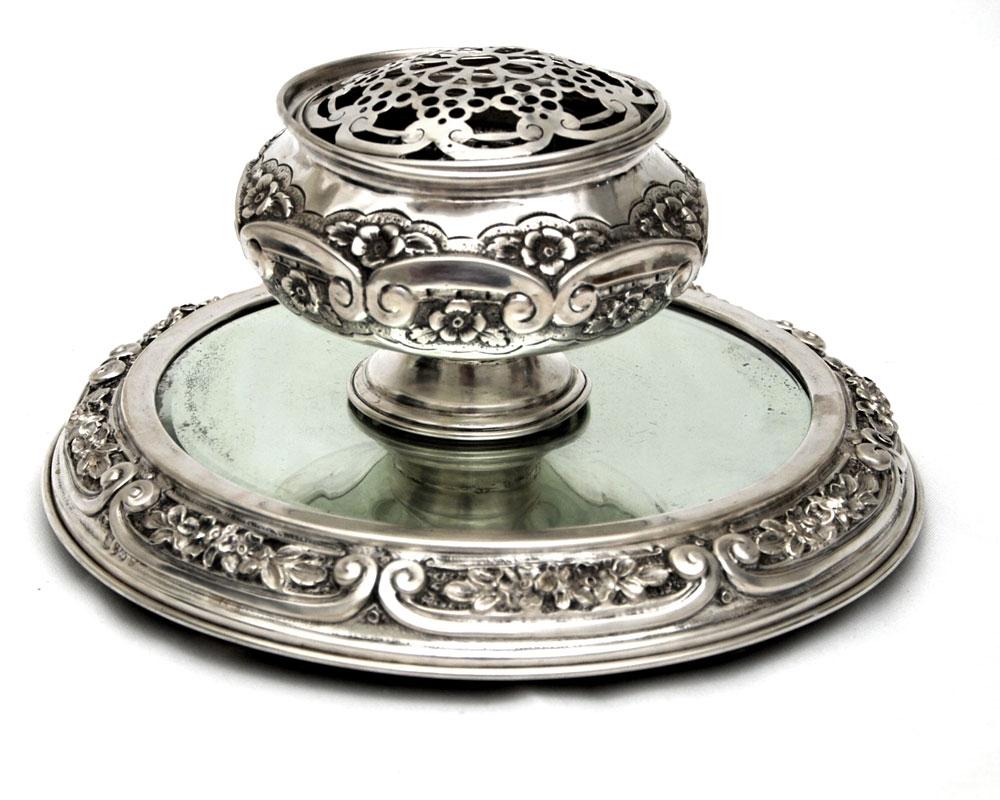 Floreiro prata portuguesa